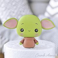 Baby Yoda Cake Topper