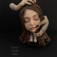Girl with Hands - Creepy World Collaboration