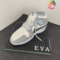 Dior Nike Cake by Ruth - Gatoandcake