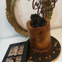 Bronze cake