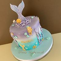 Mermaid cake by Penny Sue
