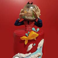 Fish bowl by manuela scala