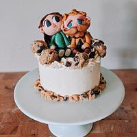 Animal Crossing Birthday Cake