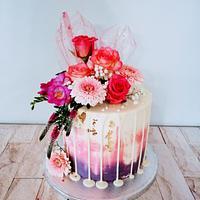 Drip cake by alenascakes