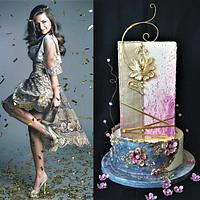 new year wedding cake :)
