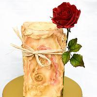My Valentine cake