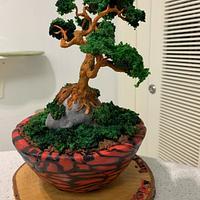 Bonsai cake by alek0