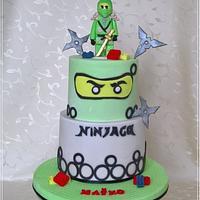 Lego ninjago & green