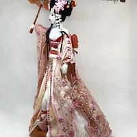 GEISHA , Colaboracion Japon by Cholys Guillen Requena