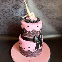 Bachelor day cake