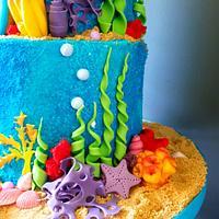 The Little Mermaid by Radoslava Kirilova (Radiki's Cakes)