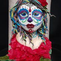 My Catrina for the Catrina Parade Collab by Sabrina Mattia