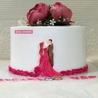 Engagement cake 👰💍🤵