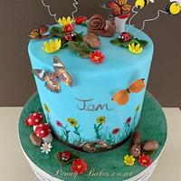 Bugs birthday cake