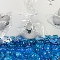 Shark Cake Pops Tutorial by Jenny Kennedy Jenny's Haute Cakes