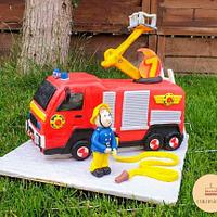 Fireman Sam is ready for action