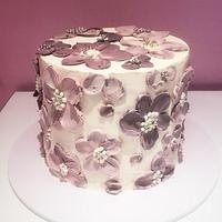 Palette knife cake