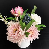 Sugar flowers arragement