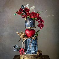 Valentine's day/ Fairytale cake