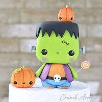 Cute Frankenstein by Crumb Avenue