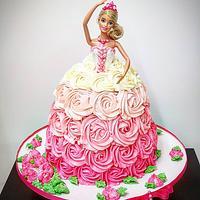 Barbie cake👸