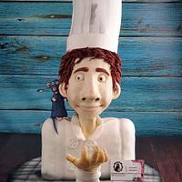 Ratatouille cake Linguini cake