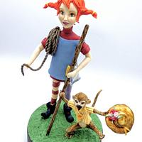 "Pippi ""Children's Classic Book Dreamland Challenge "" contemporary version"