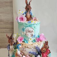 Peter the rabbit cake by Tanya Shengarova