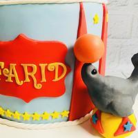 🎪 Circus Celebration Cake 🎪 by Bombshell Bakes