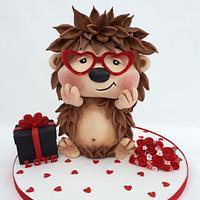 Love,love, love Cake by Creme & Fondant