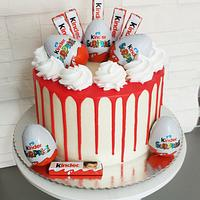 Kindersuprise cake