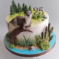 Otter cake