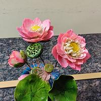 Lotus family by Dr RB.Sudha
