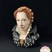 Busto di Lucrezia de' Medici (The Royal-An international Cake Challenge)