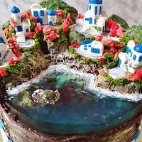 Jelly cake: Greece