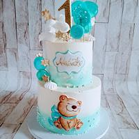 Cake for one year old boy