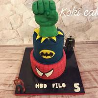 Heros cake