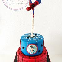 TARTA SPIDERMAN JJ