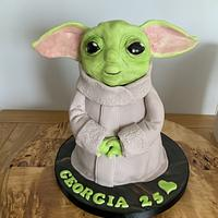 Baby yoda by milkmade