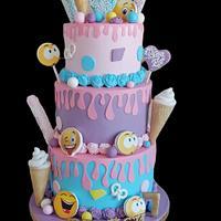 My new Cake emoticons  - Cake by Desislava Tonkova
