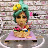 Bust cake
