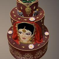 Wedding cake - indian culture