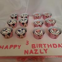 """Minnie & Mickey Mouse cupcakes """