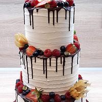 Wedding cake by Majka Maruška