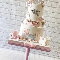 Baby shower cake - Cake by Cakeaholic22