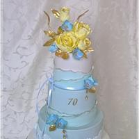 Birthday cake  for woman