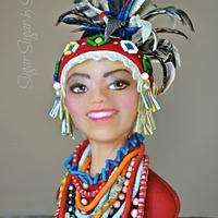 Garo Tribal Dress - Magnificent Bangladesh
