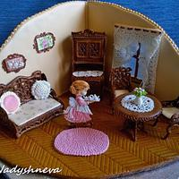Gingerbread Living room