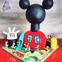 Mickey's house 🎈