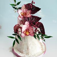 Birthday cake by Katya